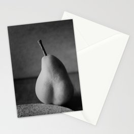 Pear-Shaped Nude Stationery Cards