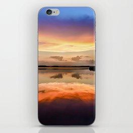 Sunset Symmetry iPhone Skin