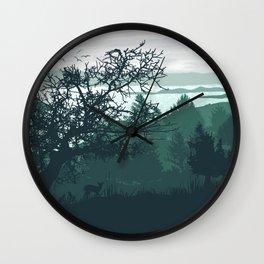 The Baikal Shore Wall Clock
