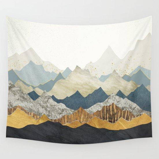 Distant Peaks by spacefrogdesigns