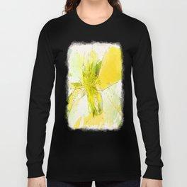Pale Yellow Poinsettia 1 Serene Long Sleeve T-shirt