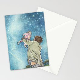 May your future twinkle Stationery Cards