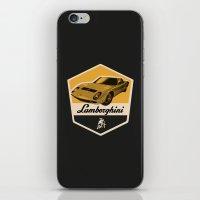 lamborghini iPhone & iPod Skins featuring Lamborghini Miura by Liviu Antonescu