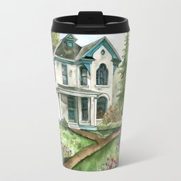 Garden House Travel Mug