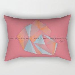 Confucius Rectangular Pillow