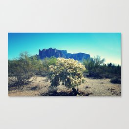 Superstition Mountains 2 Canvas Print