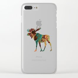 NORTH WOODS Clear iPhone Case