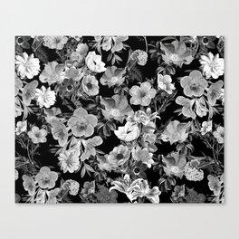 Seamless Botanical Pattern Canvas Print