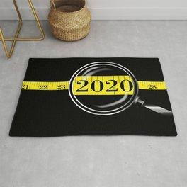 Tape Measure Border 2020 Rug