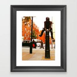 The Jumper Framed Art Print
