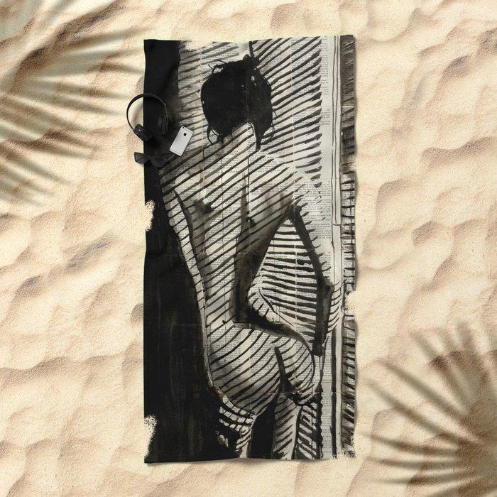 BLINDS Beach Towel