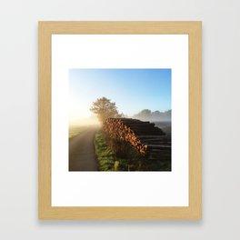 Timber - Color Framed Art Print