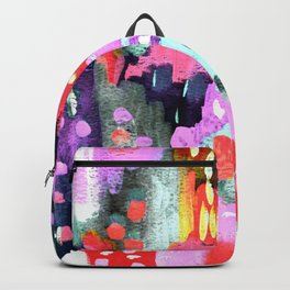 Silver, Pink & Purple Party Backpack