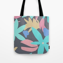 Petals and patterns Tote Bag