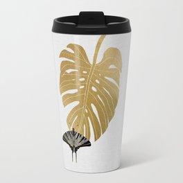 Butterfly & Monstera Travel Mug