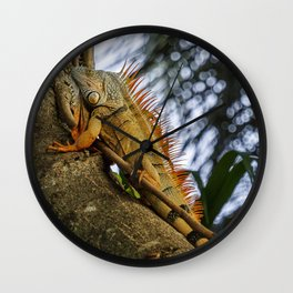 Trying to Blend In Wall Clock