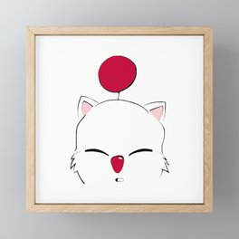 Mog Final Fantasy Framed Mini Art Print