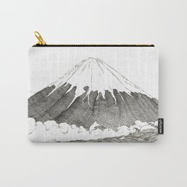 Mt Fuji and Delphines Carry-All Pouch