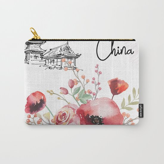 Flowers bouquet #29 Carry-All Pouch