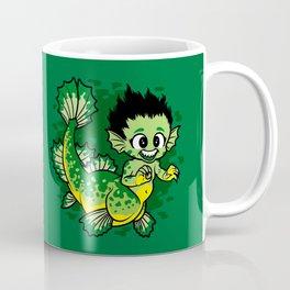 Pond Dragon Coffee Mug