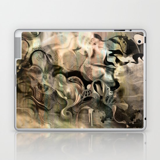 Fluidity Noir Laptop & iPad Skin