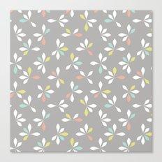 loves me loves me not pattern - pastel Canvas Print