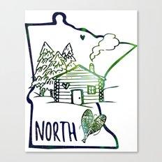 Northland Love Canvas Print