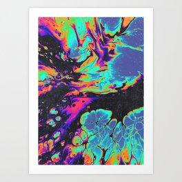 LOST PARADISES Art Print