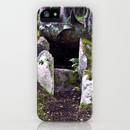 Megalithic Grave in Henneby in Denmark - Westjutland iPhone Case