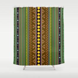 African texture Shower Curtain