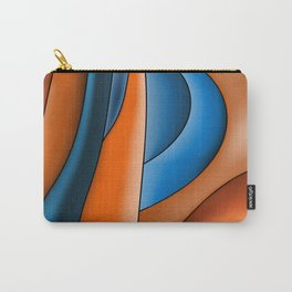 Lines Of Stained Glass Carry-All Pouch