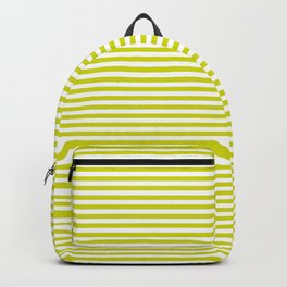 TINY STRIPE ((chartreuse)) Backpack