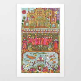 Within the Palace Gates Art Print