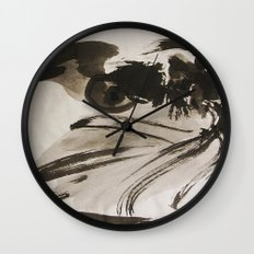 Ming's Dragon Wall Clock