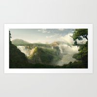 Lost World - Temple of Nature Art Print