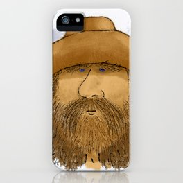 Flynt Locke, Cowboy Mountain Man iPhone Case