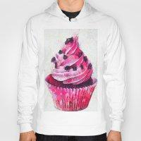 cupcake Hoodies featuring Cupcake by A.Aenska-Cholpanova
