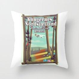 Kongernes Nordsjælland Denmark Throw Pillow