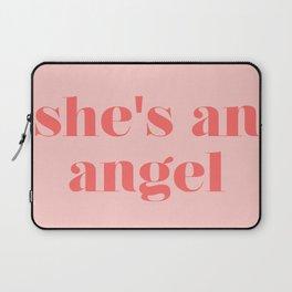 she's an angel Laptop Sleeve