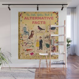 Alternative Facts Wall Mural