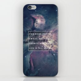 What Life Is All About - Doctor Who iPhone Skin