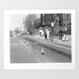 Intersection at Prospect Street Art Print