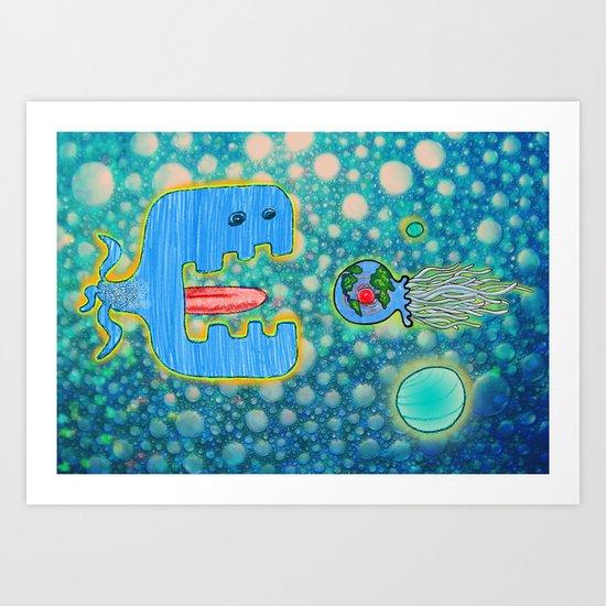 Sailing Without Destination  Art Print