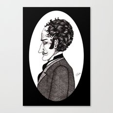 H.A. Wood Canvas Print
