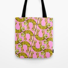 // TIGER PATTERN // Tote Bag