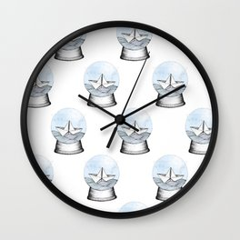 Seabound Wall Clock