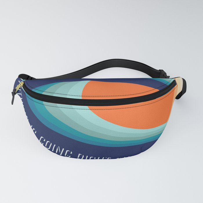Surf a left Fanny Pack
