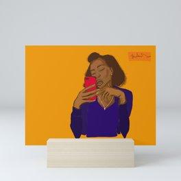 Unapologetic  Mini Art Print