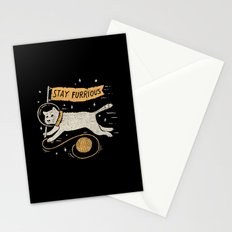 Stay Furrious Stationery Cards