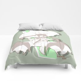 Gamer Soul Fighter Line - Rachel Comforters